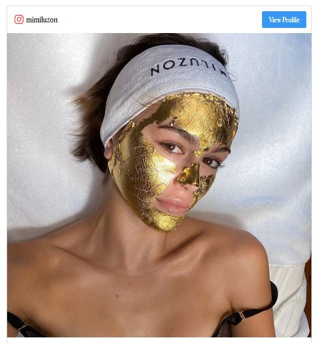 The 24K Gold Facial Treatment All The Models Are Getting For Fashion Month